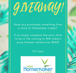 ONE DAY GIVEAWAY!